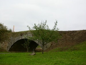Roman bridge and the promise of Franconian Calvados