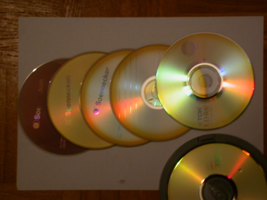 ALL CDs, not so sharp