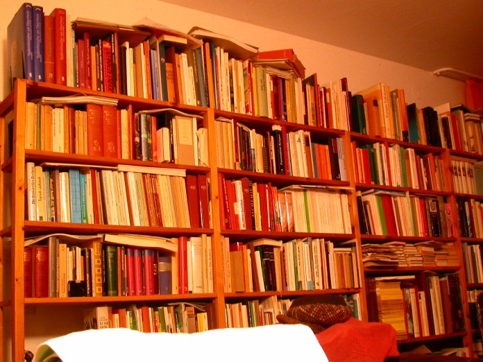 Books to the left of me